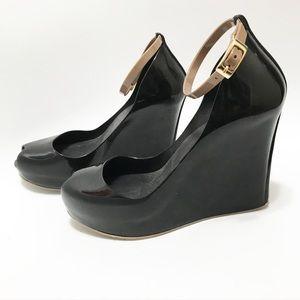 Melissa. Jelly rubber heels. Size 7
